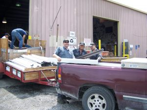 employees at Volunteer Recycling and Salvage